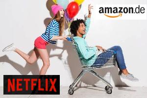 Produktbild von Super Gewinnspiel! Gratis teilnehmen und gewinne 1 Jahr Netflix gratis, 50€ Amazon Gutschein sowie weitere coole Preise im Gesamtwert von 250€!