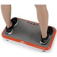 Bild von VibroShaper™ Vibrationsplatte, 200 W, 3 Intensitätsstufen, (Set, 2 tlg., mit Trainingsbändern) orange
