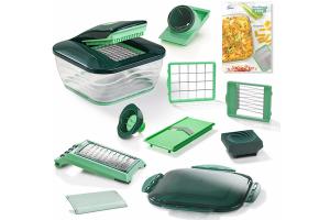 Bild von Genius® Nicer Dicer Chef, Set 15-teilig, 3300 ml grün
