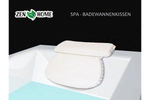 Produktbild von ZenHome Badewannenkissen – Optimales Nackenkissen / Wannenkissen für viel Komfort
