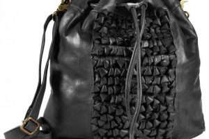 Produktbild von Greenburry Loops Alicia Beuteltasche Leder 32 cm black