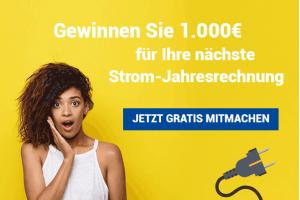 Produktbild von Stromrechnung Gewinnspiel  –  GEWINNE 1000€