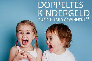 Produktbild von DOPPELTES KINDERGELD für ein Jahr GEWINNEN