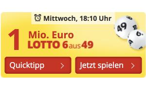 Produktbild von 924 Chancen  bei Lotto 6 aus 49 – für nur 5 € statt 11,20€