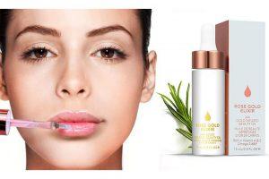 Produktbild von 1x oder 2x Lippen-Elixier mit 24-Karat-Gold-Essenz, Sheabutter, Honig und Bienenwachs-Extrakten für alle Hauttypen