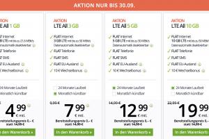 Produktbild von Mega Angebot: WinSim Allnet Flat + 3GB LTE nur 7,99€ (mtl. kündbar!, keine Anschlussgebühr!)