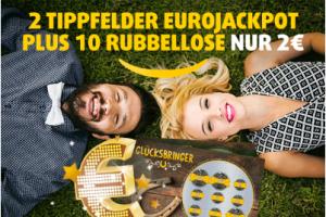 Produktbild von Deine Chance auf 90 Millionen Euro: Spiele 2 Tipps und 10 Glücksbringer Rubbellose für nur 2€!