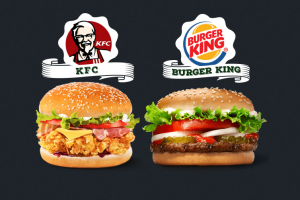 Produktbild von Gewinne jeden Monat einen 50€ Gutschein für Burger King oder KFC