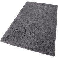 Bild von Hochflor-Teppich Viva, Home affaire, rechteckig, Höhe 45 mm, gewebt grau 60×90 cm