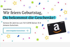 Produktbild von Haftpflicht-Versicherung in 3 Minuten schnell und unkompliziert + 15€ Amazon Gutschein geschenkt (eff. bis zu 90% Rabatt aufs erste Jahr!)