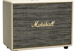 Produktbild von Marshall Woburn CR (creme) – Aktiver Lautsprecher (Bluetooth 4.0, AUX-In, optischer Eingang)