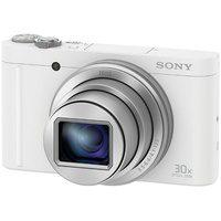 Produktbild von Sony Cyber-Shot DSC-WX500 Super Zoom Kamera, 18,2 Megapixel, 30x opt. Zoom, 7,5 cm (3 Zoll) Display weiß