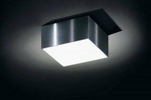 Produktbild von IP44.de Dio Deckenleuchte Aufbau mit Dio Cover #3, für 230V Leuchtstofflampe