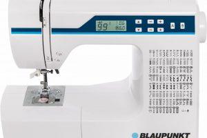 Produktbild von Blaupunkt Nähmaschine Comfort 930, 200 Programme, 200 Stichprogramme, mit Zubehör, weiß