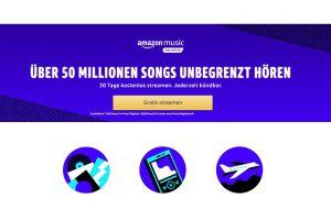 Produktbild von Über 50 Millionen Songs unbegrenzt hören – 90 Tage kostenlos streamen + Jederzeit kündbar