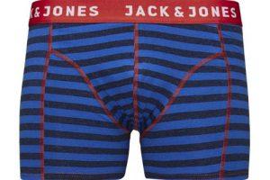Produktbild von JACK & JONES HERREN BOXERSHORT JACSTROKETONE TRUNKS 1ER PACK