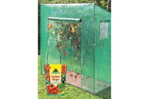 Bild von Tomatengewächshaus Groß, ca. 190x170x80 cm + GRATIS dazu Tomatendünger 750 g