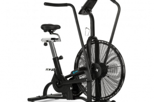 Bild von Strike Bike Ventilation Resistance Training Computer BT Black
