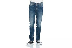 Produktbild von Mustang Herren Jeans Vegas – Slim Fit – Tinted Rinse Washed