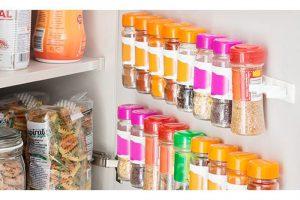 Produktbild von Selbstklebender und anpassbarer Gewürzhalter