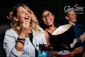 Produktbild von CineStar Kino-Gutschein für jeden Tag und alle 2D-Filme inkl. Zuschlägen, Popcorn/Nachos und Getränk