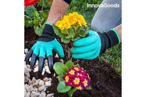 Bild von InnovaGoods Gartenhandschuhe mit Krallen (10er Pack) – 10% extra Rabatt + versandkostenfrei mit Code WDR10