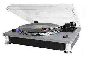 Produktbild von Soundmaster PL990SI Plattenspieler – 10% extra Rabatt und versandkostenfrei mit Code WDR10
