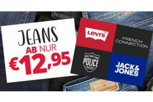 Produktbild von Jeans ab nur 12,95€ – Jack and Jones, Diesel, Henleys, Only, G-Star uvm.