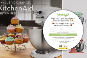 Bild von Exklusives Gewinnspiel von Limango – Gewinne eine Kitchen Aid