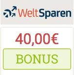 Bild von 40€ BestChoice-/Amazon.de-Gutschein für Weltsparen +2,2% Zinsen