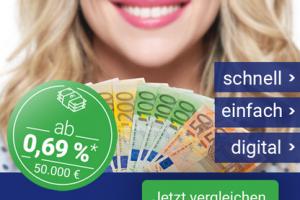 Bild von Smava bietet dir einen Betrag von bis zu 50.000€ ab einem effektiven Jahreszins von 0,69%