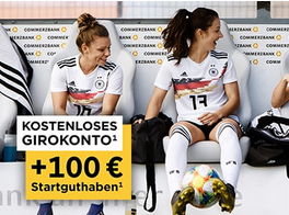 Produktbild von WOW! Bis zu 100€ auf dein neues kostenloses Girokonto bei der Commerzbank!