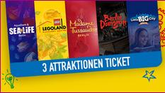 Bild von Attrakationen Ticket Sale bis zu 70% Rabatt u.a. Legoland, Sealife, Big City uvm.