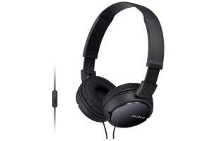 Produktbild von Sony MDR-ZX110AP Kopfhörer schwarz