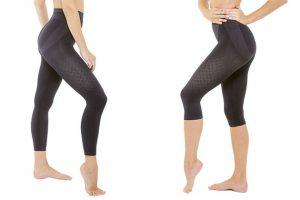 Bild von Massage- oder Anti-Cellulite-Leggings in Schwarz für Damen in der Größe nach Wahl