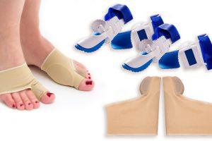 Bild von 1 Paar orthopädische Zehentrenner-Socken oder / und 1 Paar orthopädische Fußkorrektor