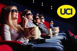 Produktbild von 2, 5 oder 10 Kinogutscheine für alle 2D-Filme inkl. Film- und Platzzuschlag in den UCI Kinos (bis zu 55% sparen*)