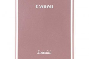 Produktbild von Canon Zoemini Mobiler Mini-Fotodrucker