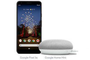Produktbild von Das brandneue Google Pixel 3A – Jetzt gratis Google Home Mini dazu!