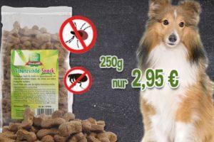 Bild von Schutzschild-Snack – Hält bei regelmäßiger Fütterung Zecken und Flöhe fern!