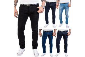 Produktbild von Rock Creek Designer Herren Jeans Hose Regular Slim Stretch Jeans