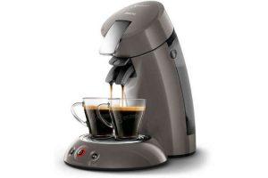 Produktbild von PHILIPS Original Senseo HD6556/00 Kaffeepadmaschine Crema Plus