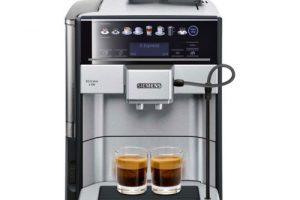 Produktbild von Siemens TE657503DE Kaffeevollautomaten Schwarz / Edelstahloptik