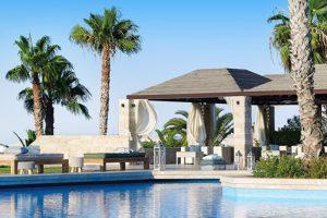 Produktbild von Luxusurlaub auf Kreta – Flüge + Unterkunft VIP Etage mit einem Poolbereich + Willkommensgetränke + All Inclusive = 655€