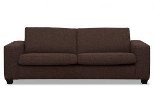 Bild von Beliani 3-Sitzer Sofa Polsterbezug terrabraun WESTSIDE