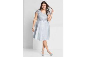 Bild von Kleid mit edlem Spitzenoberteil