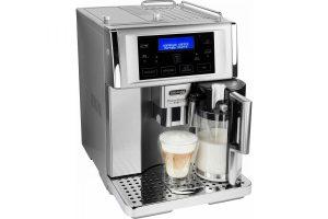 Bild von De'Longhi Kaffeevollautomat PrimaDonna Avant ESAM 6708, herausnehmbare Brühgruppe, silberfarben