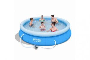 Bild von Bestway Quick Up Pool Set Ø 366 x 76 cm, inkl. Filterpumpe