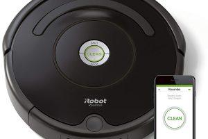 Bild von Amazon Deal: 37% reduziert: Saugroboter R671 von iRobot