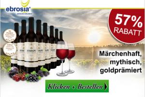 Bild von 8 Flaschen Torrevento Merlot Primitivo 'Rossolupo' Puglia IGT 2018 -57% Rabatt